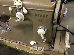 Pfaff Model 230 Industrial Sewing Machine