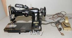 Pfaff model 130 sewing machine industrial Germany collectible craft fabric tool