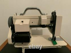 Portable Walking Foot Sewing Machine with Straight and Zig-Zag Stitch