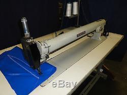 Porter 30 Long Arm Zig Zag, Mattress Label Attatcher Industrial Sewing Machine