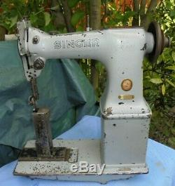 Postbed Singer 51W54 Lockstitch Industrial Vintage Sewing Machine