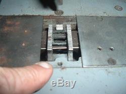 Rare Heavy Duty Adler 166 Zig Zag / Straight Stitch Industrial Sewing Machine