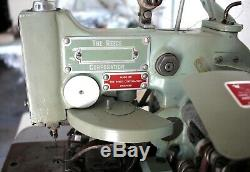 REECE 101 Rounded Buttonhole 3/4 Industrial Sewing Machine 220V 3-Phase