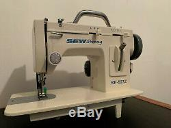 RE-607Z Zig-Zag and Straight Stitch Portable Walking Foot Sewing Machine