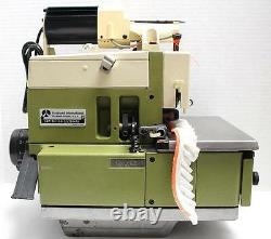 RIMOLDI 627 3-Thread Serger Metering Device Industrial Sewing Machine Head Only
