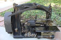 Rare Antique Union Special / Galkin Waist Band Industrial Sewing Machine Zig Zag