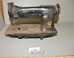 Rare Singer sewing machine 111W150 heavy duty sew leather canvas industrial Q5