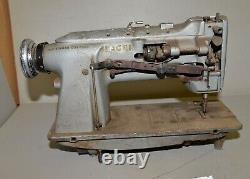 Rare Singer sewing machine 211G651 walking foot lock stitch industrial tool Q10