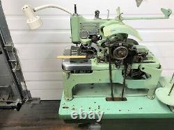 Reece 101 3/4 Keyhole Buttonhole Chainstitch 220v Industrial Sewing Machine