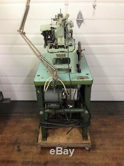Reece 101 Bulldog 3/4 Keyhole Buttonhole Chainstitch Industrial Sewing Machine