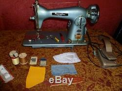 Remington Sewing Machine Industrial Strength Sews 1/4 Leather withAccs, Thread