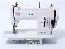 Rex RX-607 Portable Upholstery Walking Foot Sewing Machine