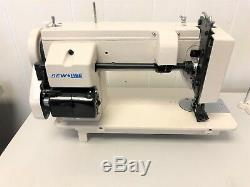 SEWLINE SLP-106-9 NEW 9 INCH BED WALKING FT WithREVERSE INDUSTRIAL SEWING MACHINE