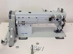SEW LINE SL-106 NEW TRIPLE FEED WALKING FOOT with110V INDUSTRIAL SEWING MACHINE