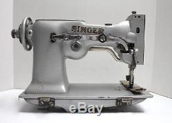 SINGER 107W1 2-Needle 3-Thread Double ZigZag Industrial Sewing Machine Head Only