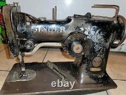 SINGER 107w1 Zig Zag Heavy Duty Industrial Sewing Machine Head Only works