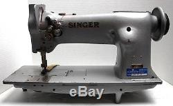 SINGER 112W115 2-Needle Feed 1/4 Gauge Industrial Sewing Machine Head Only