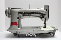 SINGER 112W115 Two 2 Needle Feed 5/8 Gauge Industrial Sewing Machine Head Only