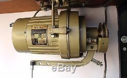 SINGER 151W1 Walking Foot Lockstitch Heavy Duty Industrial Sewing Machine 110V