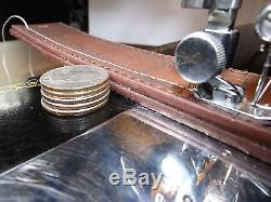 SINGER 15-91 Industrial Strength HEAVY DUTY Sewing Machine LEATHER 1948