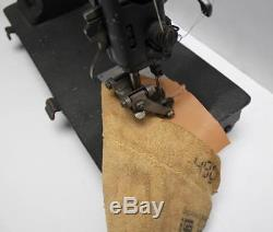 SINGER 16W11 2-Needle Roller Foot Moccasin Industrial Sewing Machine Head Only