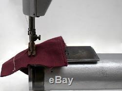 SINGER 17SV37 Shuttle Hook Cylinder Bed Industrial Leather Edge Sewing Machine