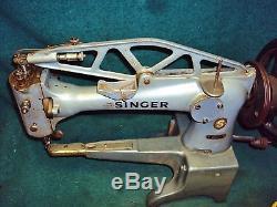 Singer 29k71 Industrial Cylinder Arm Sewing Machine Leather Patcher Cobbler 29-4