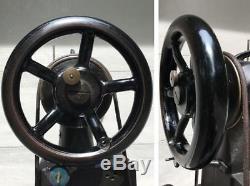 SINGER 29K71 Industrial Leather Cobbler Patcher Treadle Sewing Machine