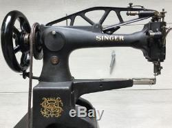 SINGER 29K71 Industrial Leather Cobbler Patcher Treadle Sewing Machine