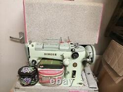 SINGER 319k SEWING MACHINE, ZIG-ZAG, Semi industrial Leather, Serviced/ tested