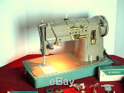 SINGER 328K Industrial Strength HEAVY DUTY Sewing Machine LEATHER, DENIM, VINYL