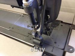 Singer 340w405 40 Inch Extra Longbed 4 Needle Puller Industrial Sewing Machine