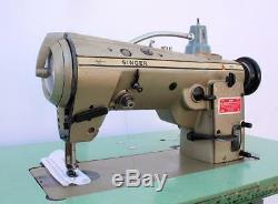SINGER 457U105 Zig Zag Lockstitch Reverse High Speed Industrial Sewing Machine
