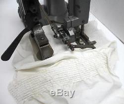 SINGER 52-62 12-Needle 3/16 Gauge Smocking Industrial Sewing Machine Head Only