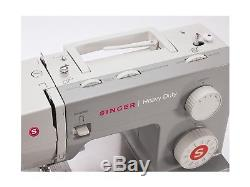 SINGER Heavy Duty Sewing Machine Industrial Leather Embroidery Quilt + BONUS KIT