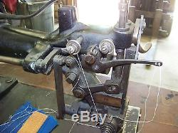 Singer Industrial Double Needle Sewing Machine 7-38