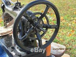 Singer Large Industrial Sewing Machine- 7-34