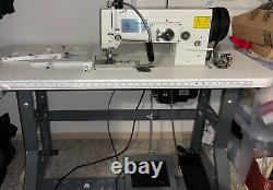 Sailrite Professional Industrial sewing machine. White in Color