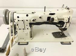 Seiko Little Used Walking Foot Big Bobbin 110v Industrial Sewing Machine
