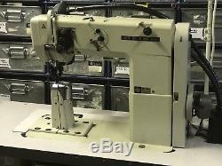 Seiko PWB-8GW-1 Industrial Post Sewing Machine with Mitsubishi needle pos motor
