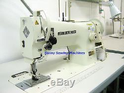 Seiko STH-8BLD-3 Single Needle Walking Foot Sewing Machine with Servo Motor
