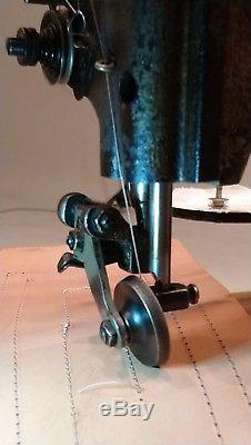 Seiko TF Cylinder Arm Roller Foot Industrial Sewing Machine HEAD ONLY