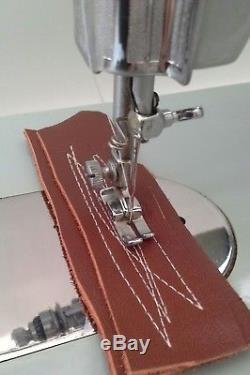Semi Industrial Jones Sewing Machine for Heavy Duty Work Leather /Denim