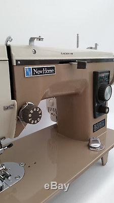 Semi Industrial New Home Sewing Machine for Heavy Duty Work + Extras