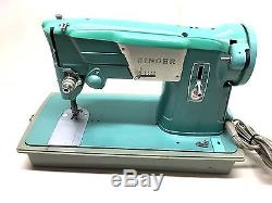 Sew Leather Industrial Strength Heavy Duty Vintage Singer Sewing Machine Zigzag