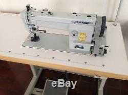Sew Line Sl-106 Triple Feed Walking Foot 110v Servo Industrial Sewing Machine