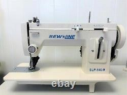 Sewline New 146-9 Walking Foot 9 Zig Zag + Extras Industrial Sewing Machine