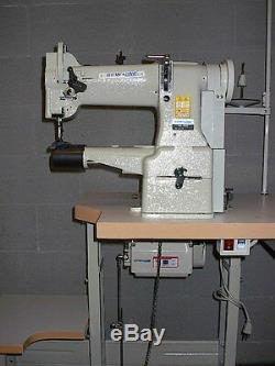 Sewline Sl-228 Cylinder Walking Foot 110v Servo Motor Industrial Sewing Machine