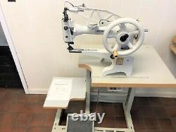 Sewline Sl-29b Shoe Patcher Big Bobbin 110 Volt Servo Industrial Sewing Machine