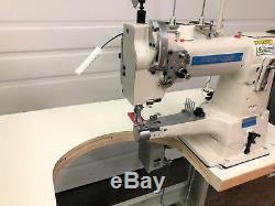 Sewline Sl-335 Cylinder Walking Foot Binding Servo Industrial Sewing Machine